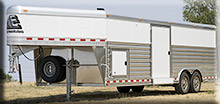 100 x 24 Elite aluminum car trailer